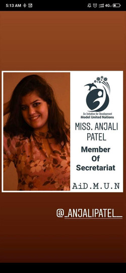 Miss. Anjali Patel