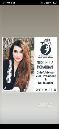 Miss. Huda Mokarram