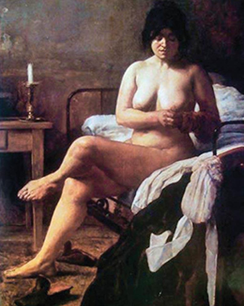 Alma Cero Desnuda Sin Censura muchacha cama adentro