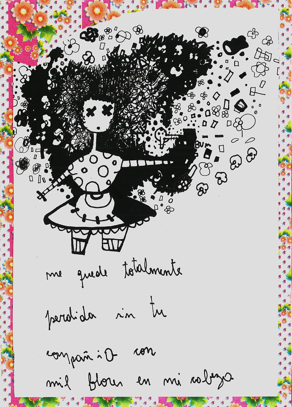 Mujer Floral de Mariana Luz Ticheli