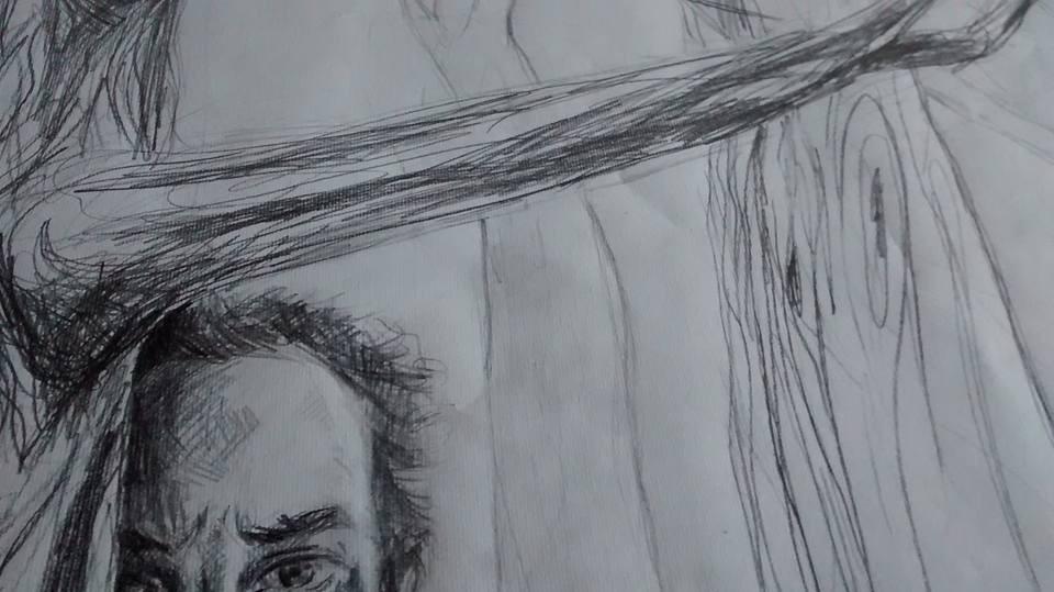 Dibujo de Leo Pedra