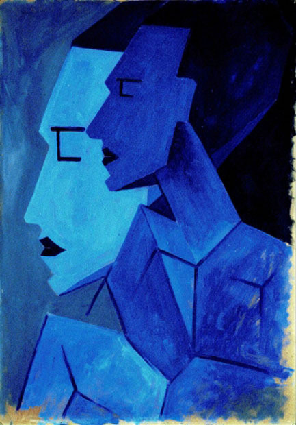 Andreas Walser-dos hombres de perfi