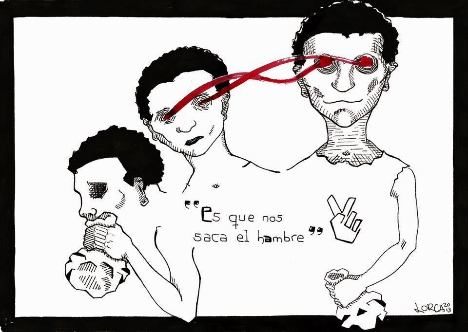 Dibujo: Giuliano Lorca