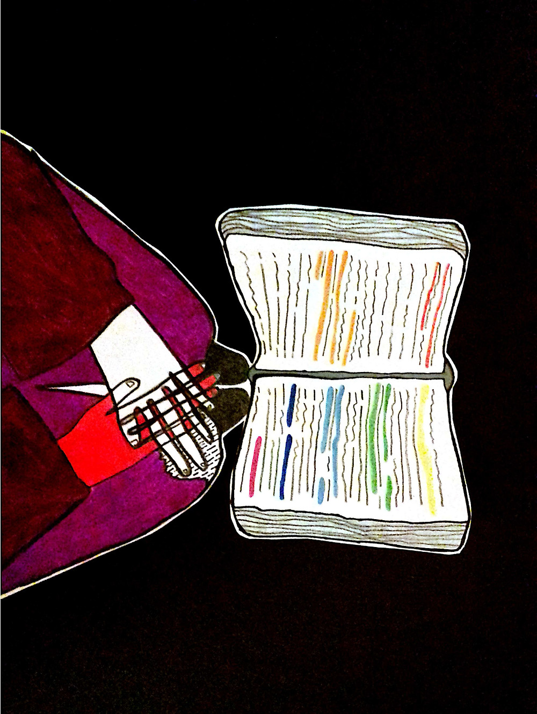 Dibujo de Clara Bachur