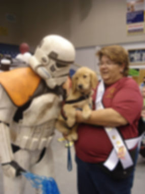 Even stormtroopers love puppies