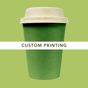 Customizable Bamboo coffee drinking cup