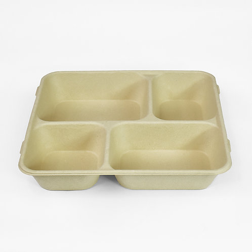 4-Compartment Tray