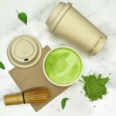 Bamboo Cup and Lid