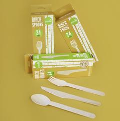 Compostable Birch Cutlery