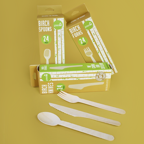 Compostable Birch Cutlery