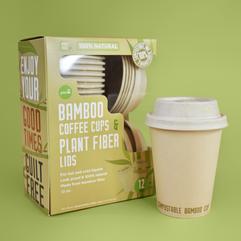 Compostable Bamboo Fiber Cups