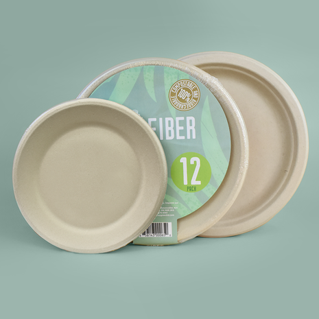 Plant Fiber Tableware (Plates and Bowls)