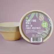 Plant Fiber Bowls Bilingual