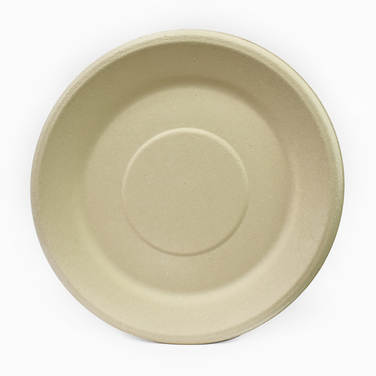 Compostable and biodegradable fibre flat plate