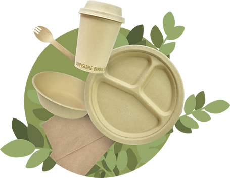 Illustration of Greenlid food service