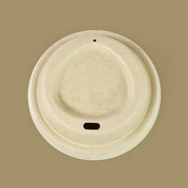 Compostable Plant Fiber Coffee Cup Lids
