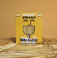Wheat Drinking and Cocktail Straws
