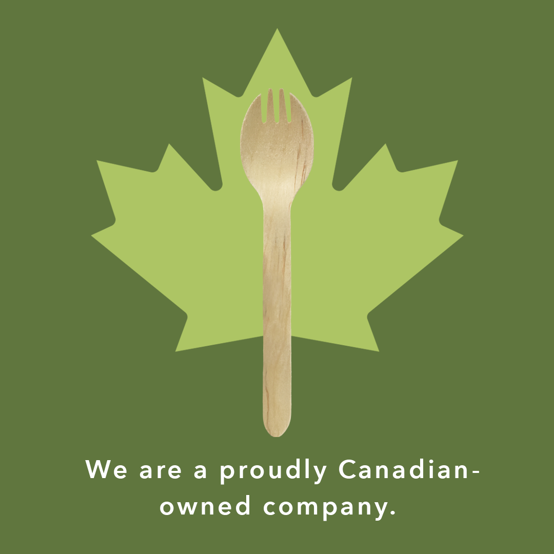 we're proudly Canadian
