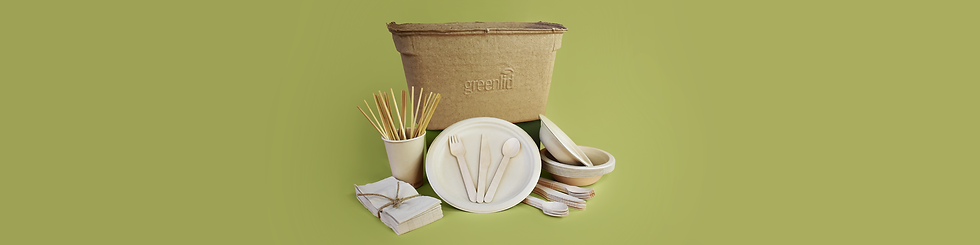 Assortment of Greenlid Product