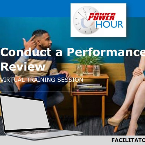 Performance Review Interview - Virtual Session (PDF Version)