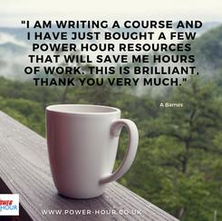 Power Hour Training Materials.