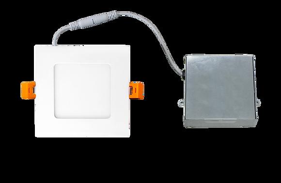 Square LED Slim Ceiling Light w/ IC Junction Box Driver - ETL Certified