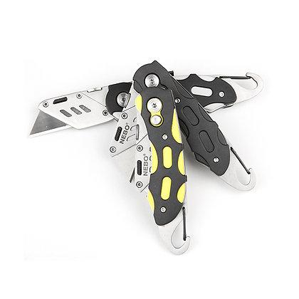 Folding Lock-Blade Utility Knife
