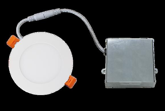 Round LED Slim Ceiling Light w/ IC Junction Box Driver - ETL Certified