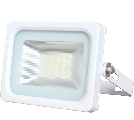 Slim LED Flood Light - Glass Deflector Lens