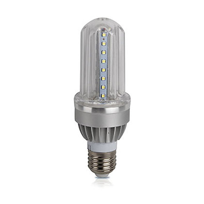 Corn light 9watt, Input power 85~265Vac, Warm white 3000K, Socket E27