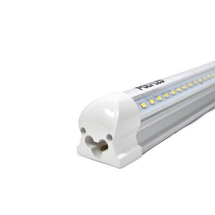 V-Shaped LED T8 Tube - Double Your Brightness! - ETL Listed