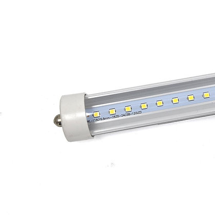 ETL Certified T8 LED Tube Lights - Clear Cover - 2 End Connection