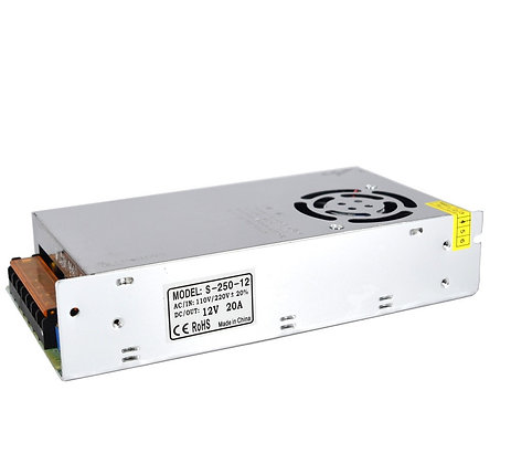 Indoor Power Supply - 12 VDC Output