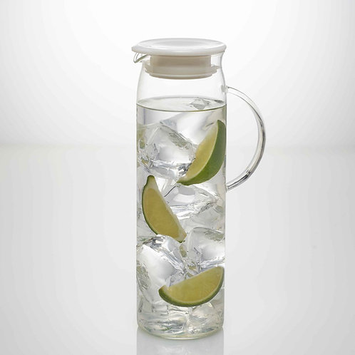 Hario glass tea pitcher with filter