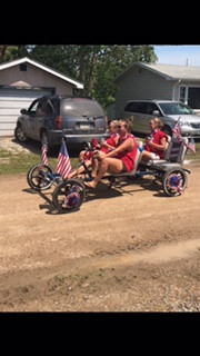 2018 July 4th - 3rd place