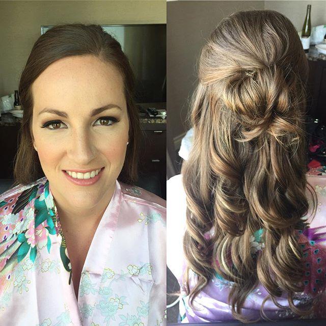 Bridesmaid Makeup& hair by Kay for _mercedesleebeauty #bridesmakeup #bridesmakeupartist #southasianb
