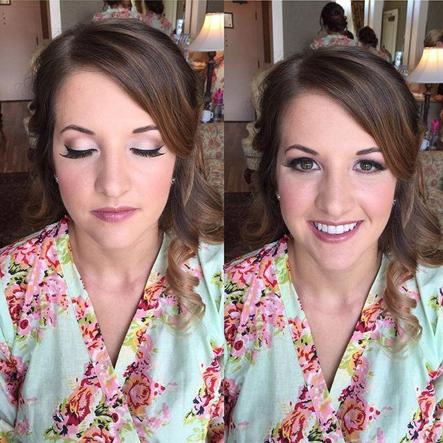 Makeup and hair by me _mercedesleebeauty #beautymakeup #hairlove #makeuplover  #instalove #hairinspi