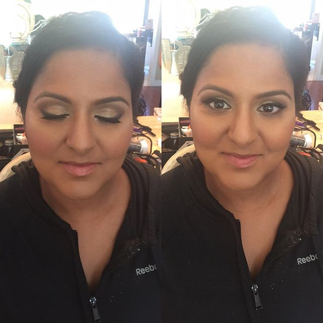 Bridesmaid's makeup and hair by Kay, for  _noorartistry_muah  #bridesmakeup #bridesmakeupartist #sou