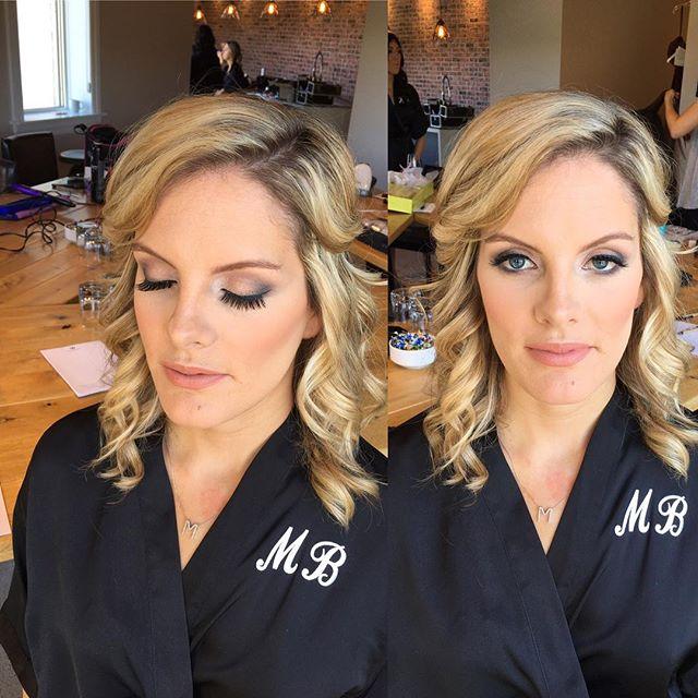 Hairstyle and makeup by kay for _mercedesleebeauty  #bridalupdo #gtastylist #muakay #gtamobilemakeup