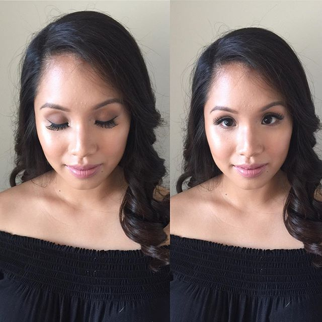 Makeup and hairstyle by Kay for  _ford_beauty skin prep _embryolisse, primer _makeupforeverca, found