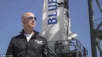 Bezos wins Heinlein Prize commercial space award