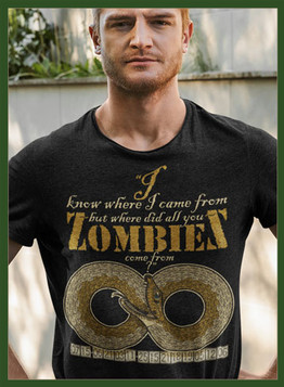 """Visit our """"All You Zombie"""" collection."""