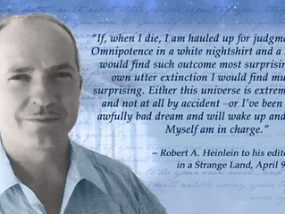 Remembering Robert Heinlein (07/07/1907-05/08/1988)