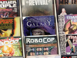 Citizen of the Galaxy now at your local Comic Shop