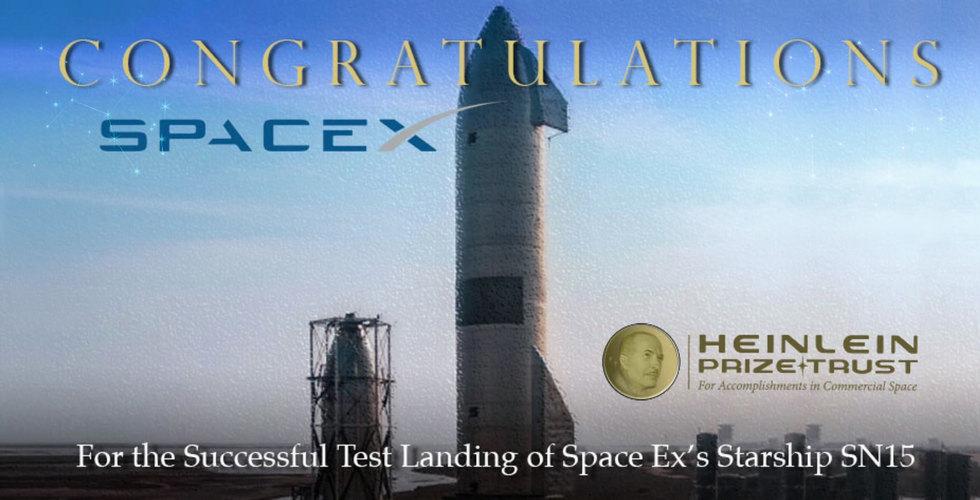 Congratulations SpaceX