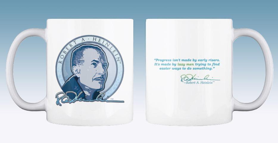 Signature Heinlein Mug