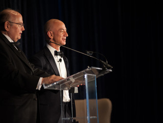 Bezos receives Heinlein Prize for Blue Origin progress