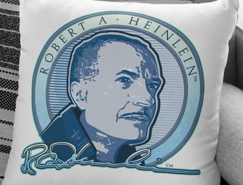 Signature Heinlein Pillow