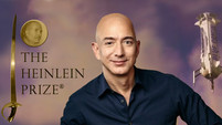 Jeff Bezos wins Heinlein Prize for space travel