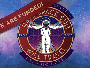 HEINLEIN GRAPHIC NOVEL UNDERWAY